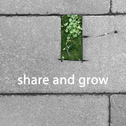 'share and grow'
