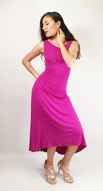 Laura - Fuschia Tango Dress