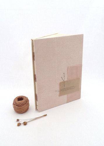 'great memories' handmade notebook