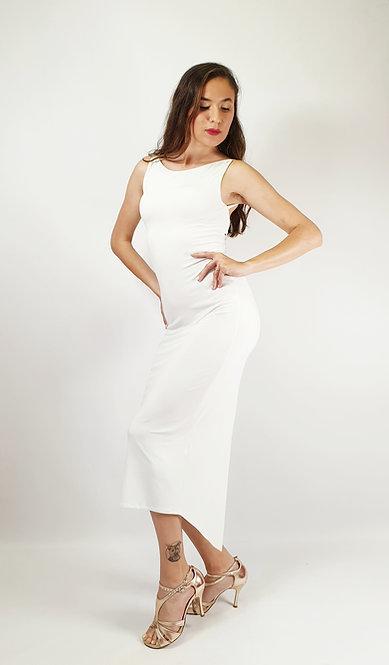 Lucia - White Tango Dress