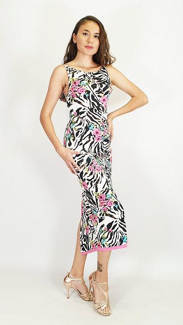 Fancy Zebra - Tango Dress
