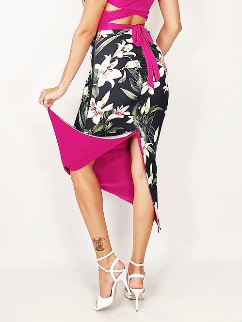 Granada Gaze Floral & Fuschia Tango Skirt