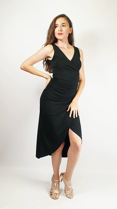 Sabrina - Black Tango Dress