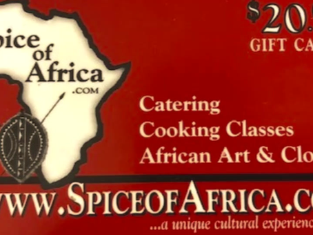 Spice of Africa is Open!