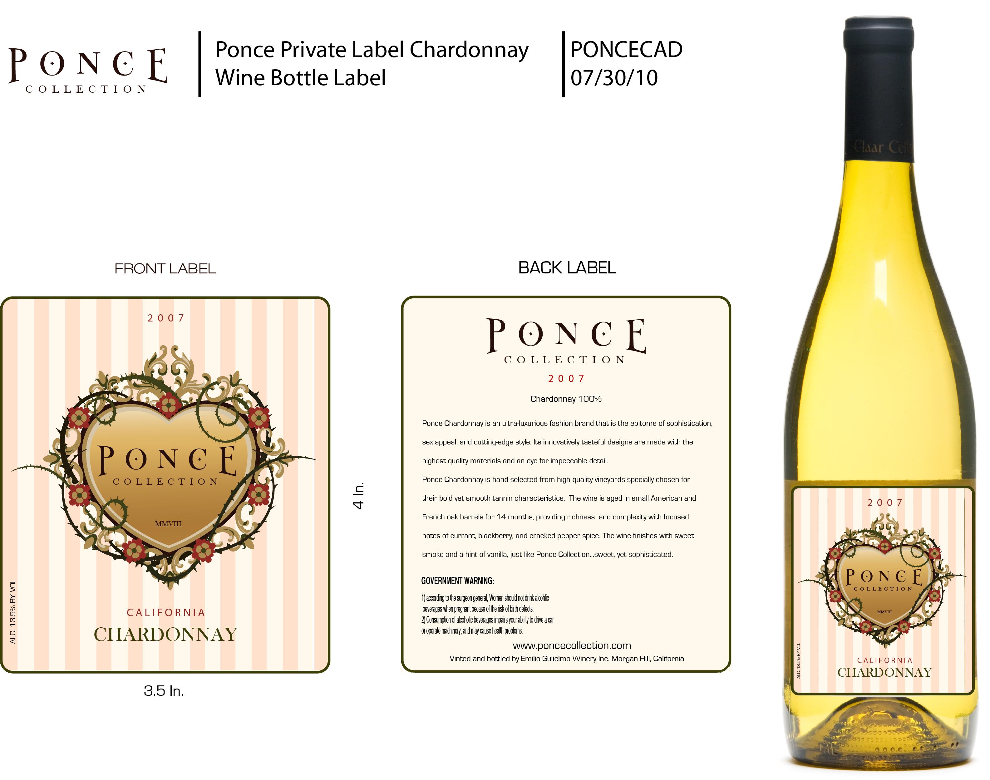 Ponce Collection Chardonnay