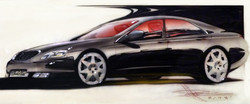 Cadillac Seville STS Sketch