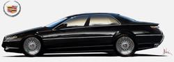 Cadillac STS Sketch