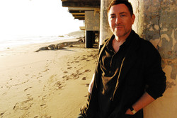 Designer Joe Ponce at home in Malibu