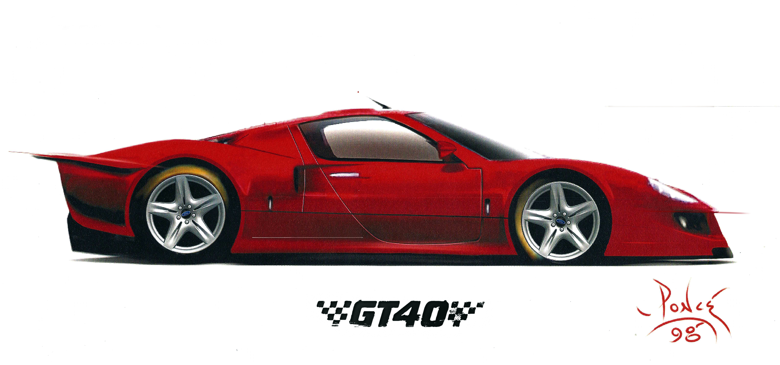 FORD GT40 Road Car Concept