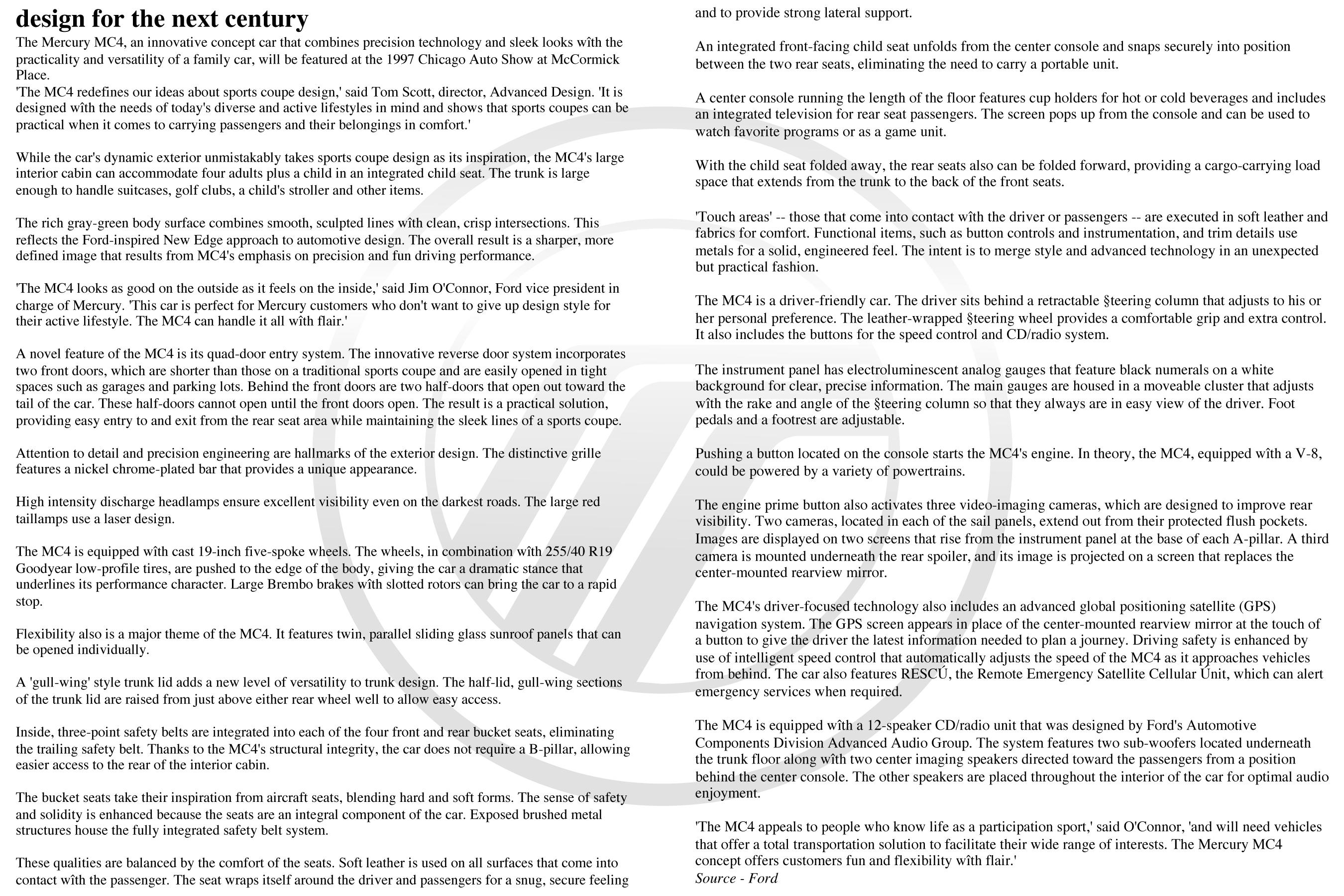 MC4 Press Release