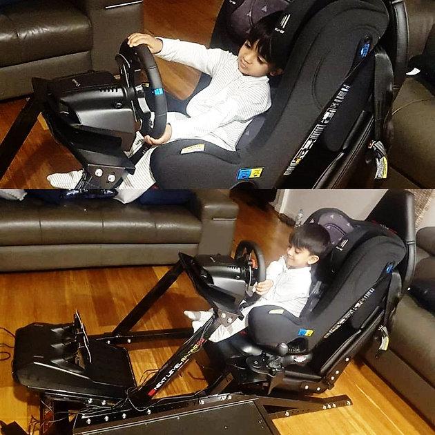 SIM Racing: Next Level Racing F1/GT Seat + Logitech G29