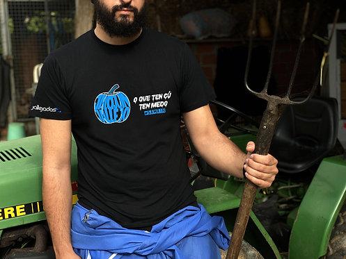 """Camiseta hombre """"O que ten cú"""""""