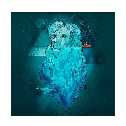 León iceberg de Parmelyn