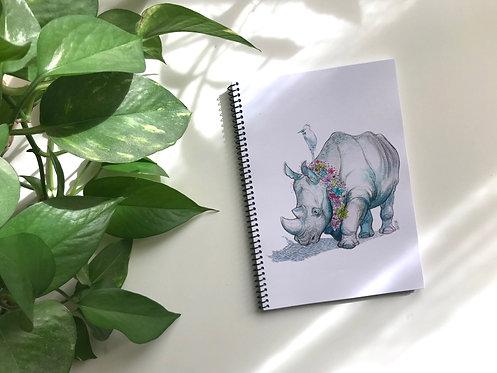 Libreta Rinoceronte