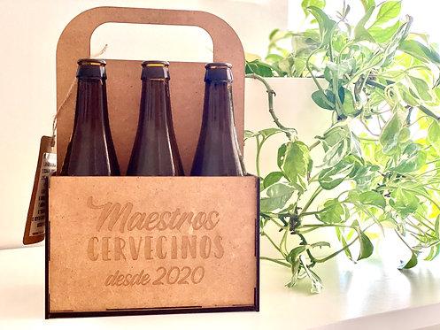 Caja de cervezas personalizada