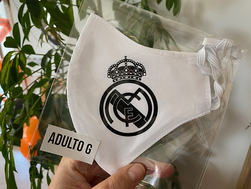 Mascarilla escudo Real Madrid