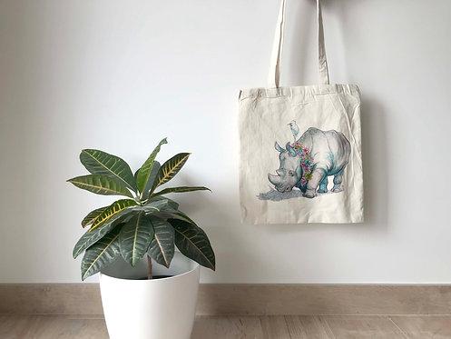 Totebag Rinoceronte
