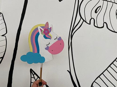 Topper unicornio