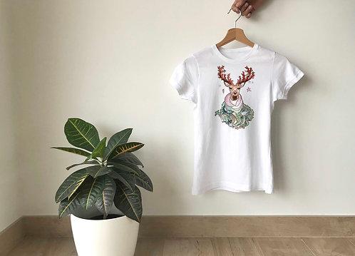 Camiseta Reno marino