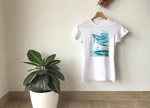 Camiseta Ballenas
