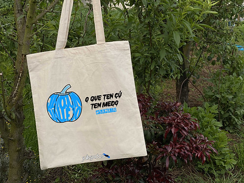 "Totebag ""O que ten cú"""