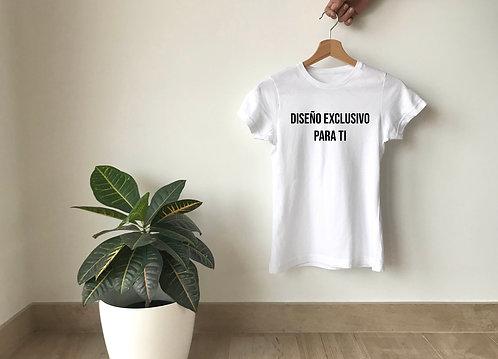 Camiseta con un diseño para ti
