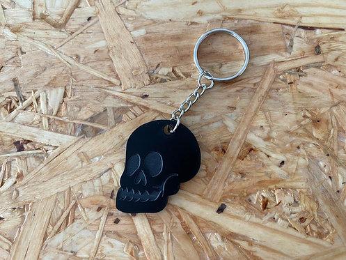 Llavero calavera negra
