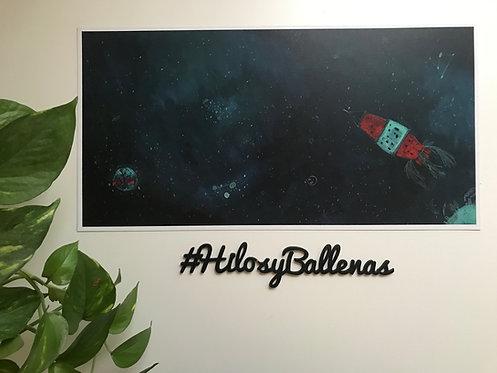 Ilustración cohete por SandraFiz