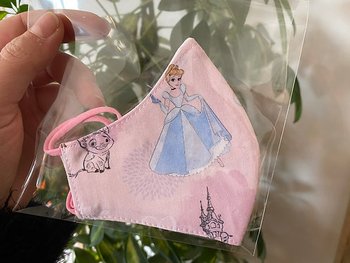 Mascarilla princesas Disney