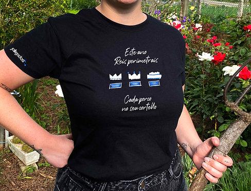 """Camiseta mujer """"Reis perimetrais"""""""