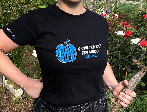 """Camiseta mujer """"O que ten cú"""""""