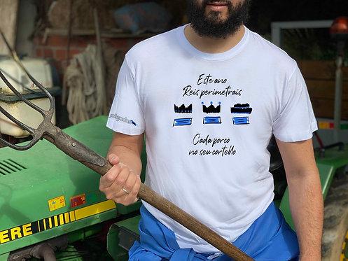 """Camiseta hombre """"Reis perimetrais"""""""