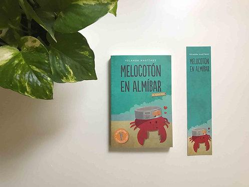 """""""Melocotón en almíbar"""" + marcapáginas"""