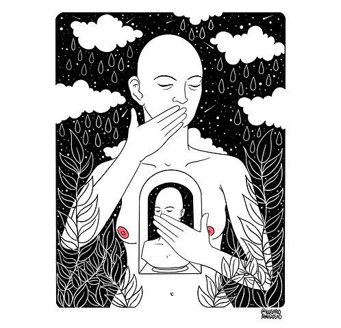 """""""Calla"""" de @Ilustroamigusto"""