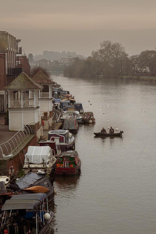 Fishing the Thames