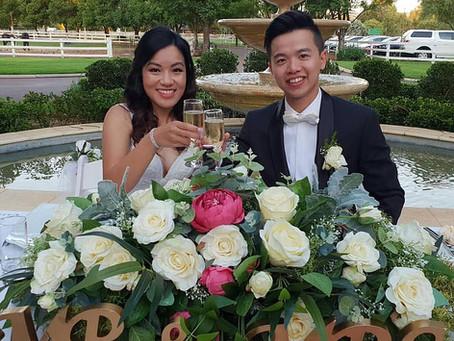 A Blissful Garden Wedding...