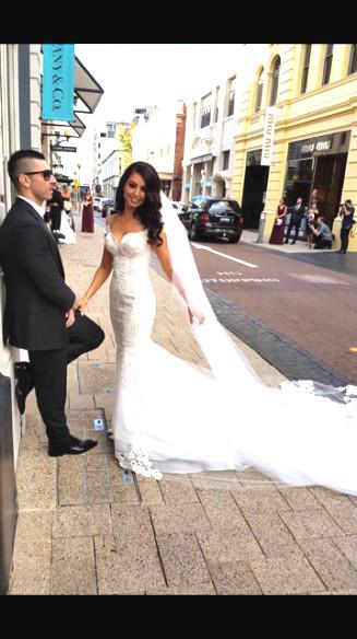 Sunning Bride Amanda & husband Dejan