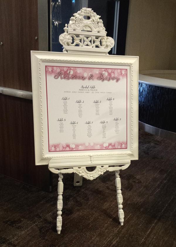 Seating Plan at Hilton