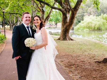 Classy Navy Blue & Silver Themed Wedding