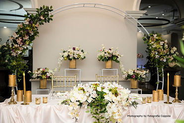 Stage Styling with Sweetheart Table rdc