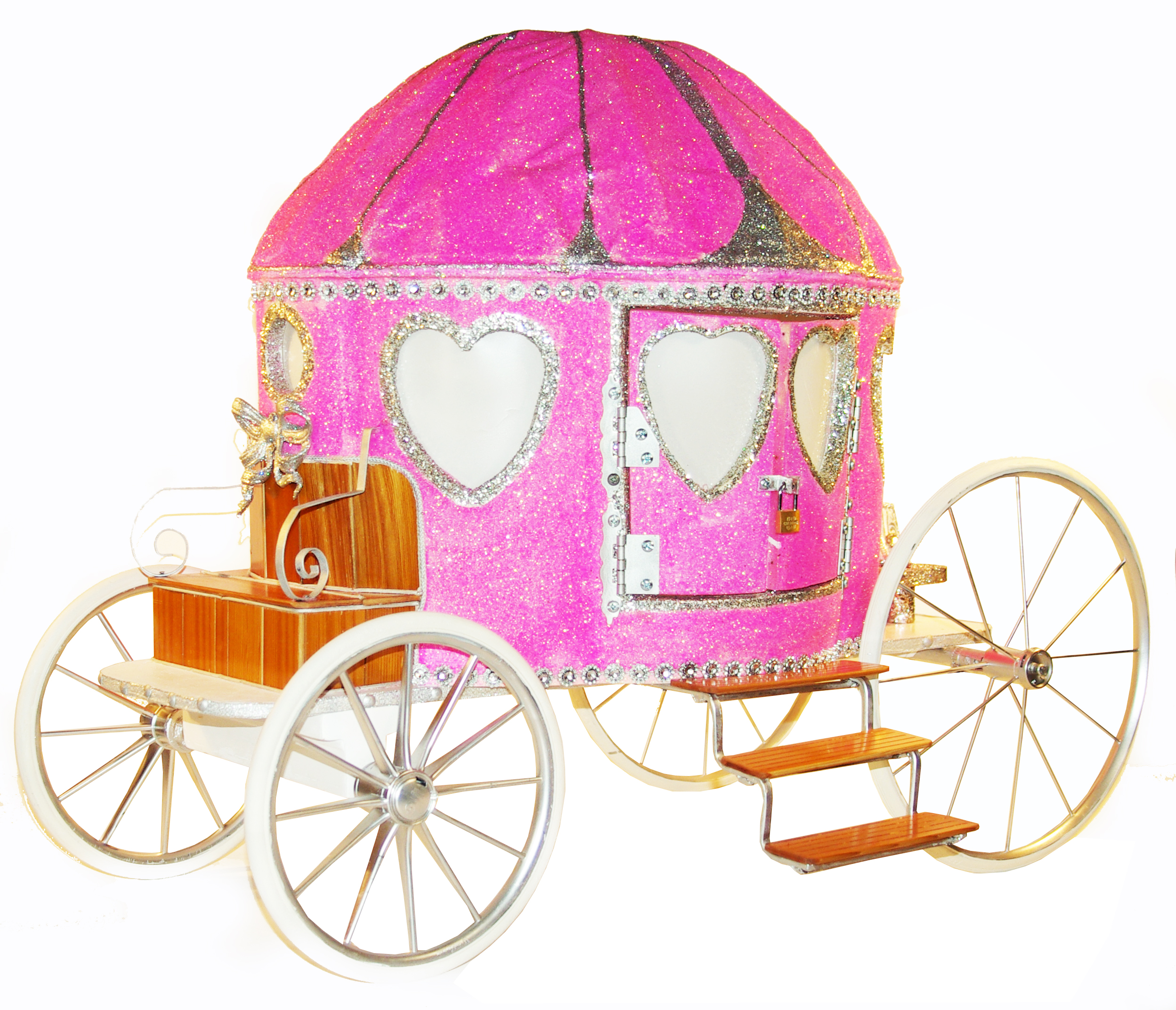 Cinderella Carriage Wishing Well