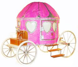 Cinderella Carriage Wishing Well