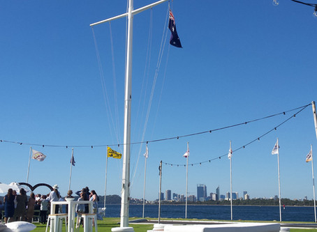 Boating, Water and a Yacht Club -  the perfect setting for a wedding