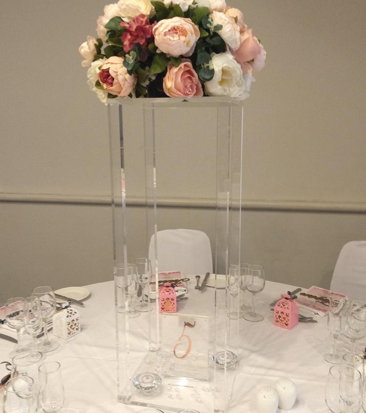 Acrylic Flower Towers