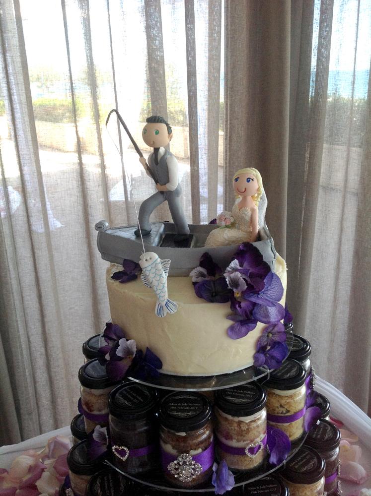 Adorable Custom Made Cake Topper