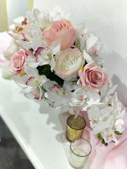 Orchids and Roses Centrepiece