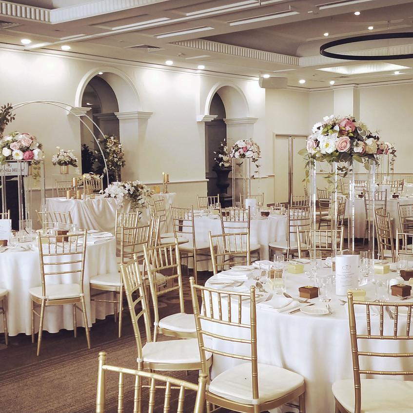 Swan Room Set up.
