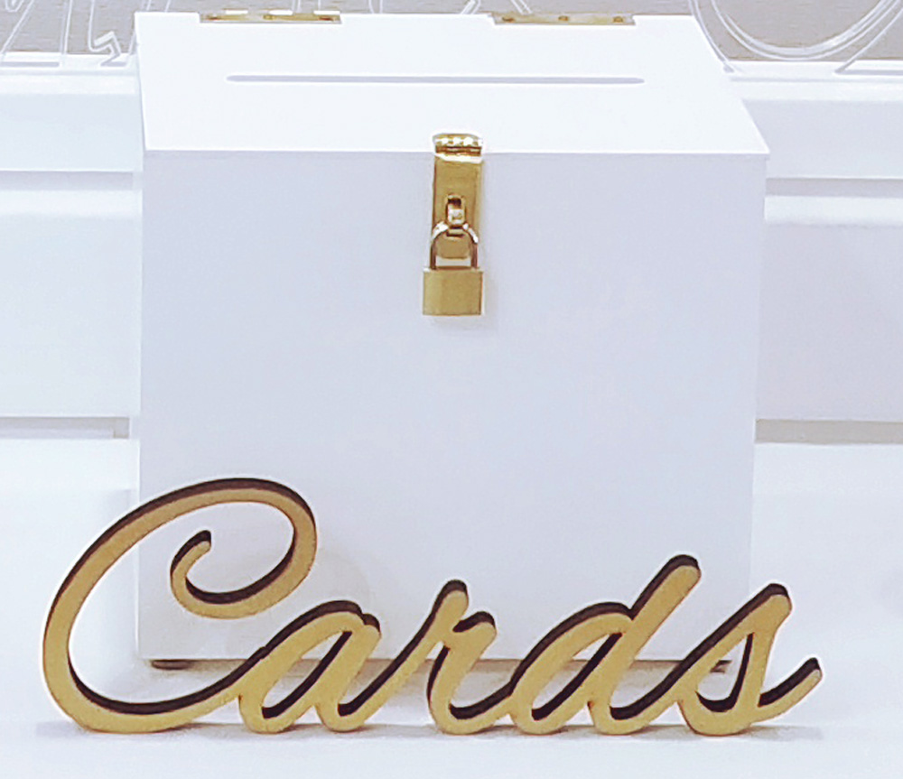 Gold cards sign