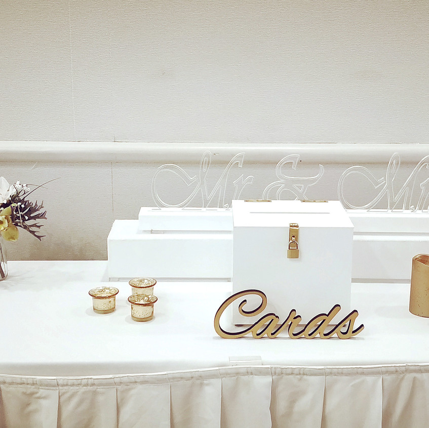 Styled Gift Table