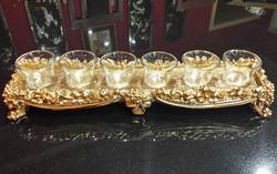 Ornate Gold Tea Light Holder